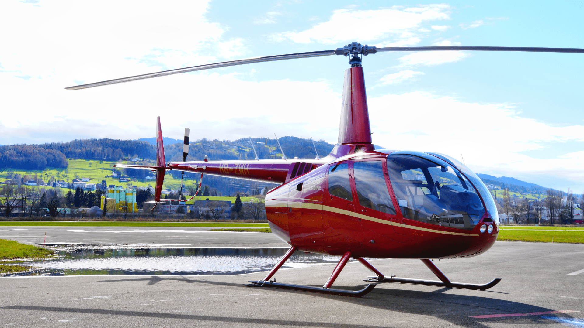Helikopter HB-ZWH Helialpin
